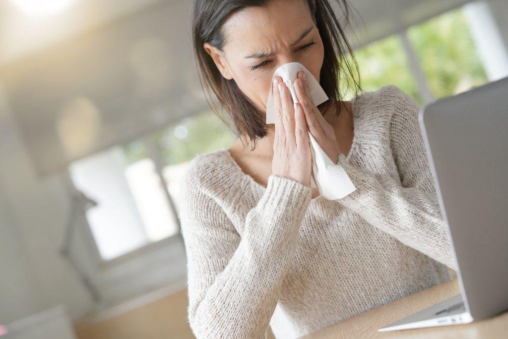 Nose tissue rhinitis